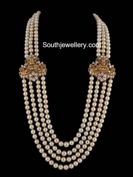 south sea pearls mala lakshmi side pendants