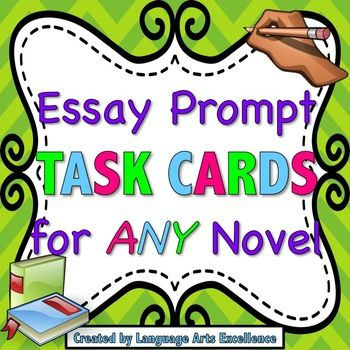 generic novel essay prompts When it comes to test preparation, it's a good idea to teach students to paraphrase the directions however, in the case of parcc literary analysis and research writing prompts, it will help even more to teach them to turn the directions into questions this approach makes it easier to respond to the prompt and helps.
