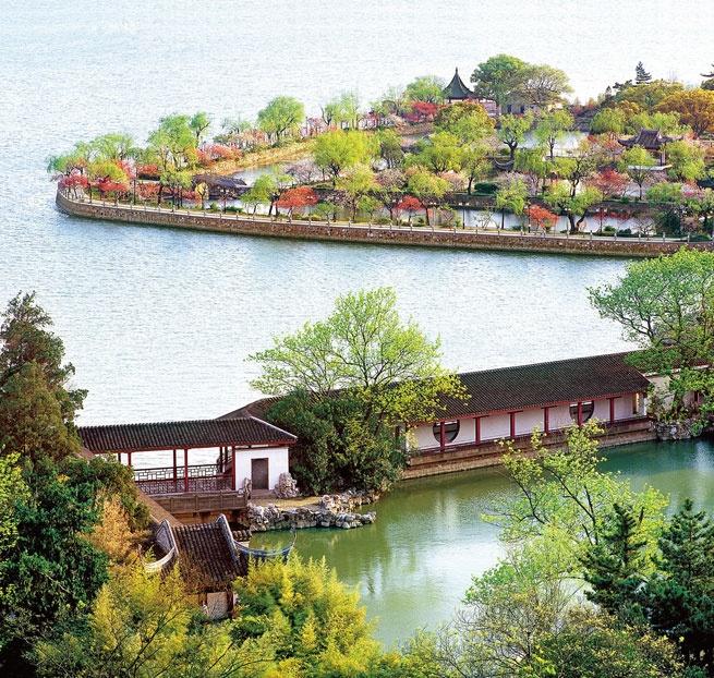 無錫 太湖。wuxi taihu lake