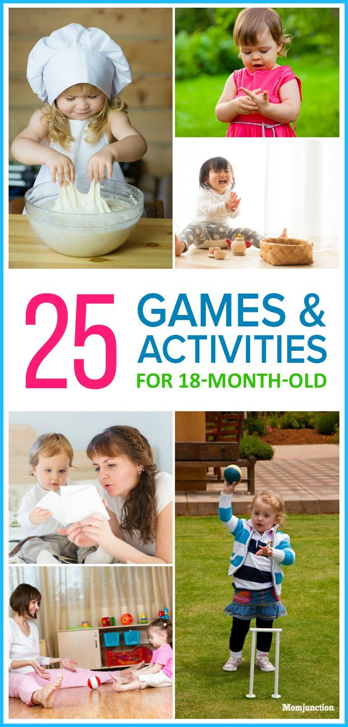 Now that your baby has turned 18-month old and independent, she'll be more active.Here's a list of fun activities for 18-month-old to happily engage them.