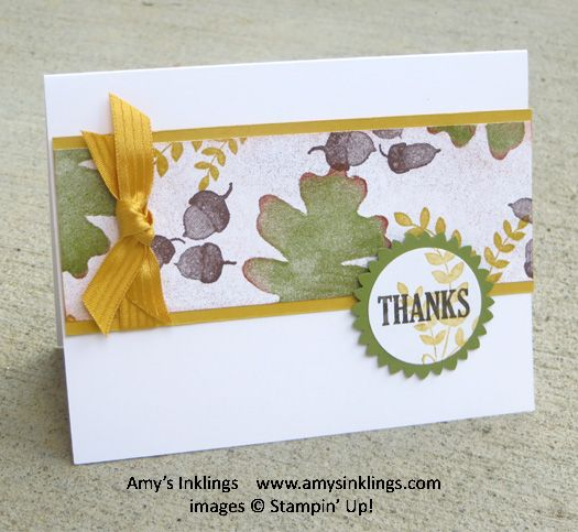For All Things (Day 1 of 4), Stampin' Up
