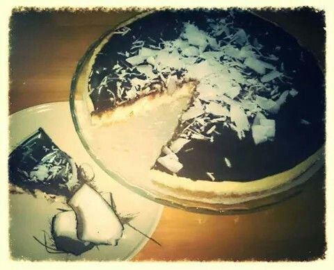 Coconut cheesecake♡♥