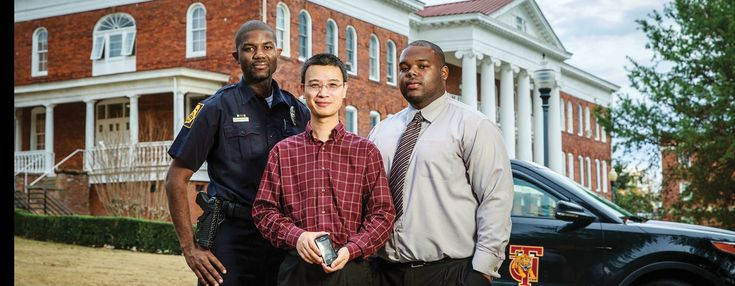When Dr. Fan Wu, assistant professor of computer science at Tuskegee University took campus police Officer Sherman Buford's idea   for an app for the Tuskegee University Police Department.  Campus parking enforcement at Tuskegee traditionally has been done through paper ticketing, with officers filling out half a page of information. Thanks to the work of Wu and his undergraduate assistant, Adontavius Turner, ticketing will soon be as simple as entering a vehicle's tag number on a mobile…
