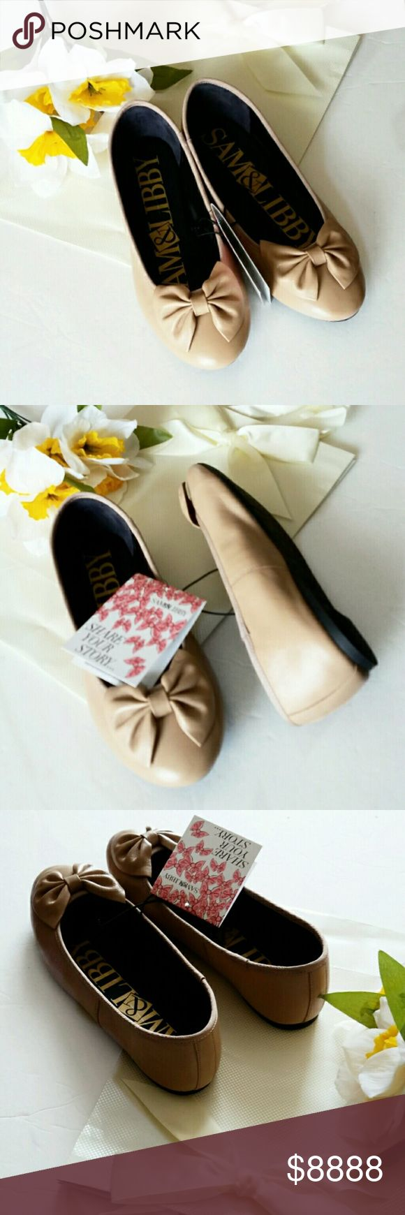 COMING SOON!! Sam & Libby Neutral Ballet Bow Flats LISTING IN PROGRESS-Please 'LIKE' this listing to be automatically notified when available for sale! Sam & Libby Shoes