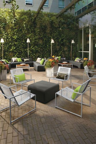 Laguna Outdoor Sofa - Modern Outdoor Sofas & Sectionals - Modern Outdoor Furniture - Room & Board