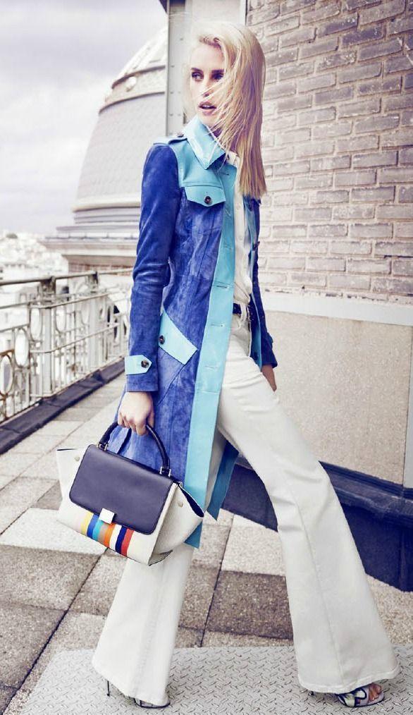 Julia Frauche for Vogue Paris Travel in France S/S 2015