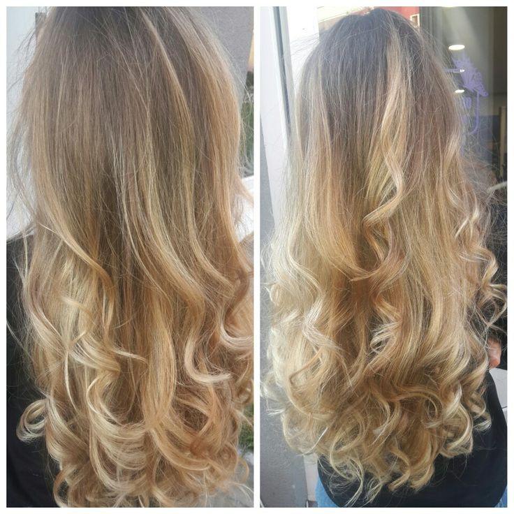 #blondebalayage