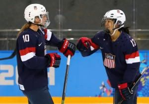 The most inevitable event in these Winter Games will begin at 9 p.m. here Thursday night, Canada on one side of the rink, the U.S. on the other, the gold medal in women's Olympic hockey awaiting the winner.
