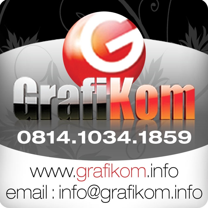 All about graphic design and artwork services, it is your real graphic design partner! Poster, Cover CD, VCD, Cassette, Calendar, Brochure, Leaflet, Banner, Billboard, Banner, Standing Banner, Logo, Company Profile, Wallpaper, Website, Blog, Year Book, Offset & Printing Services, Artwork, Design Consultant, GrafiKom