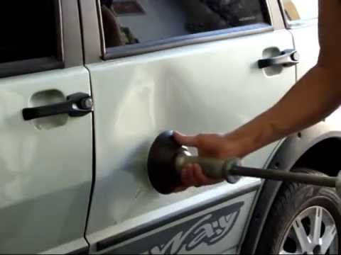 How to fix a small dent - YouTube