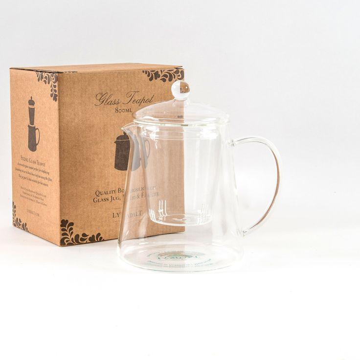 A #versatile #800mL #glass #teapot. lyndalt.com