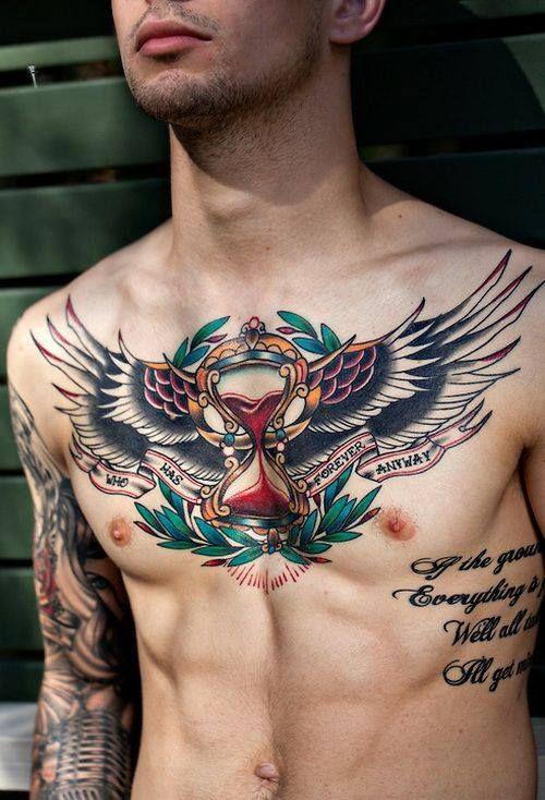 Resultado de imagen para tattoo aguila pecho