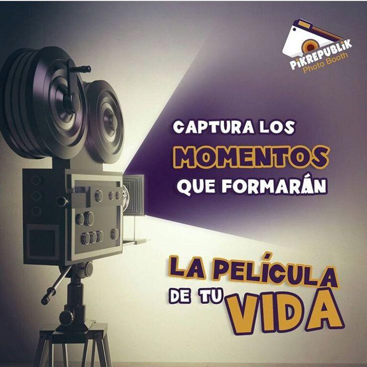 Captura los momentos que formarán la película de tu vida. Reserva tu Pikabina. www.pikrepublik.com #pik #pikrepublik #sonrisasinstantáneas#photobooth#smile #photoboothfun#pikusa#pikcolombia#fotocabina#fotocabinacolombia #eventos #events #recuerdos #fotoexperiencia #momentos #moment #live #vida #pelicula #movie