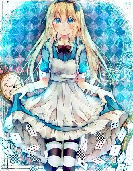 alice, anime, anime cute, anime girl, kawaii, anime sweet - image ...