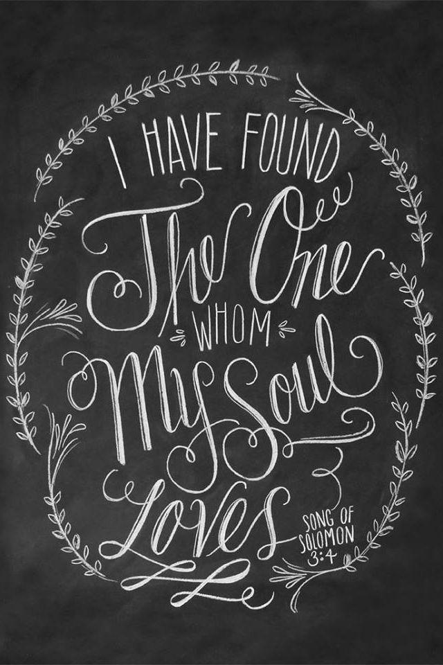 Chalkboard scripture