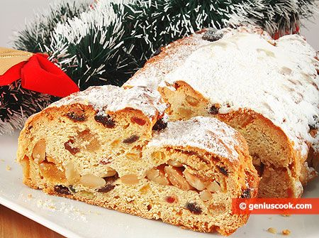 Making Almond Stollen for Christmas | Baked Goods | Genius cook - Healthy Nutrition, Tasty Food, Simple Recipes