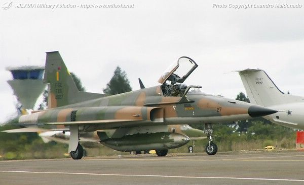 Brazilian Air Force (FAB) Northrop F-5E/F Tiger II.