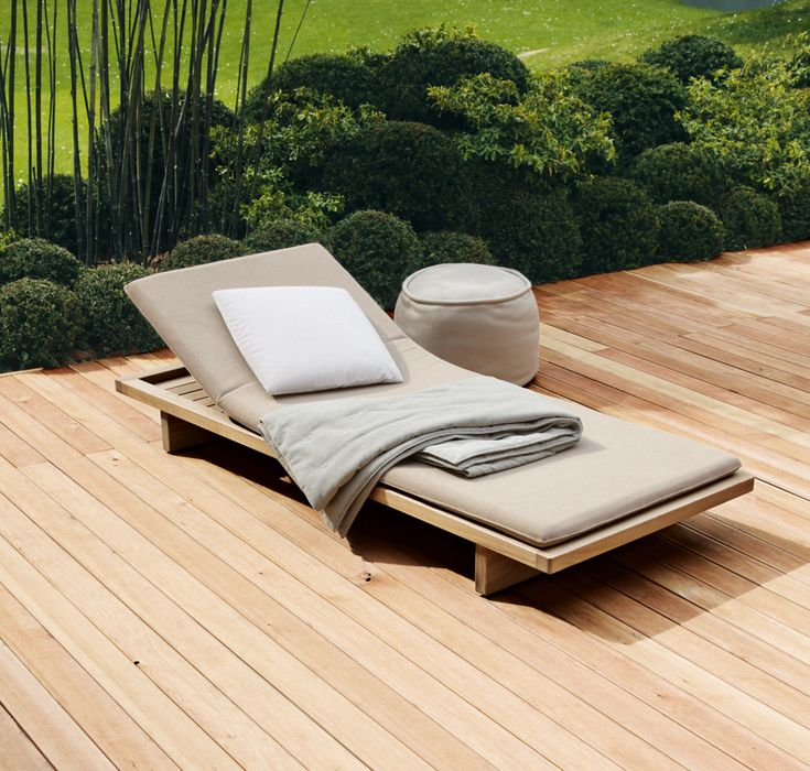 Sabi - Paola Lenti.  Master terrace. Yes please, get into my garden!