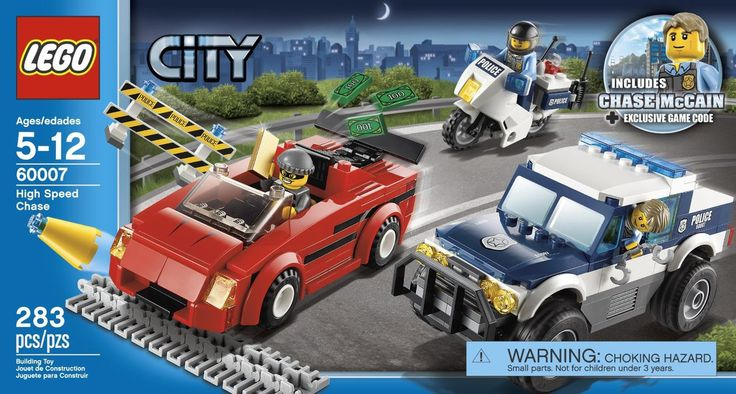 LEGO City High Speed Chase 60007 - Discount Toys USA