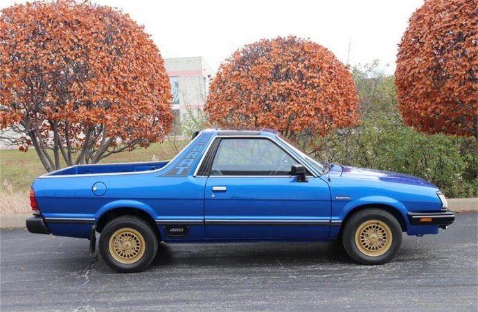 Subaru Pickup Truck >> Remember The Subaru Brat With Seats In The Pickup Bed