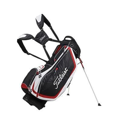 Great Value Golf Stand Bag - Titleist Lightweight SE Stand bag 2013 (Black/White/Red)
