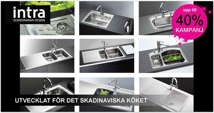 Kampanj - upp till 40% Intra - Scandinavian design! Utvecklad för det skandinaviska köket! http://www.fyndmax.se/m/-5.html#.UmjkyBCP-Ul