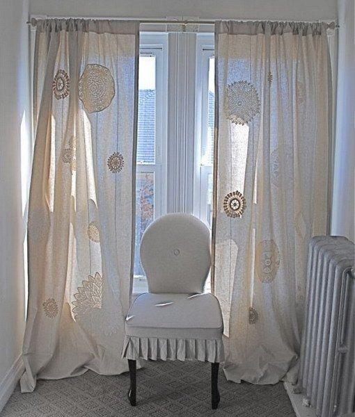 Вязаное кружево в интерьере - Ярмарка Мастеров - ручная работа, handmade