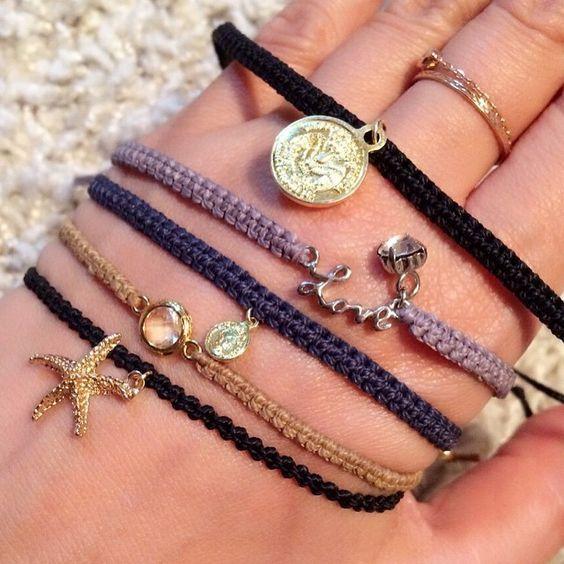 春夏の装いにぴったり♡余った刺繍糸で可愛いミサンガブレス21選