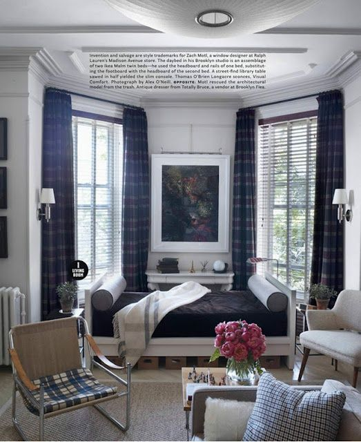 Brooklyn Studio Apartments: 132 Best Living Room Color Ideas, Navy Blue + Orange