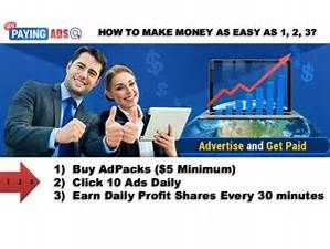 MY PAYING ADS is a viral advertising site which delivers very high quality Pro traffic within short span of your advertisement placed. Are you an online entrepreneur looking for leads and/or sales for your programs or products?  Look no further, My Paying Ads is the solution!   Click this link: https://www.mypayingads.com/ref/12220/signup