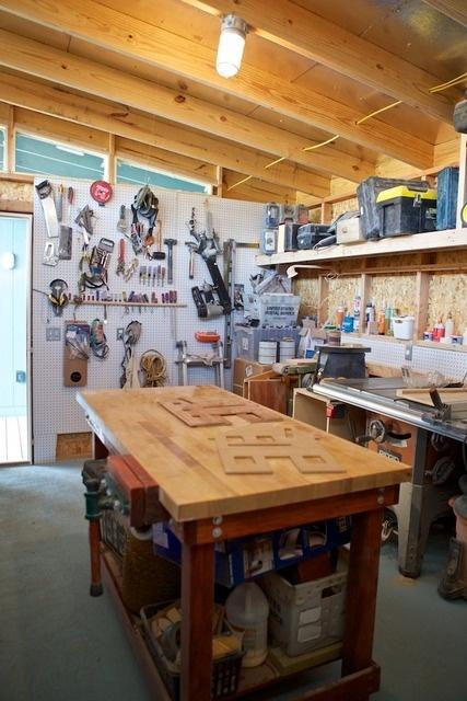 17 best images about garage workshops on pinterest for Design your own garage workshop