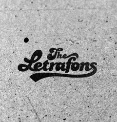 The Letrafons Band Logo design by Elia Laourda elialaourda.com #logo #design #logodesign #vintage #texture #seventies #vintagetypography #rock #music
