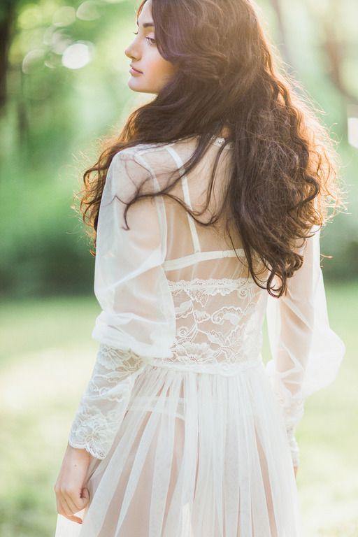 Будуарные платья - Шанель