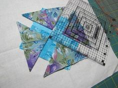 The Quilting Kitty - Folded Star (Somerset) Tutorial - Folded Star (Somerset) Tutorial
