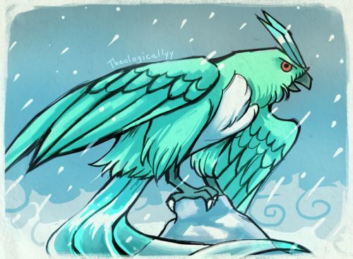 theologicallyy:  Shiny Articuno is rather unremarkable, so... - http://pokemon.abafu.net/pokemon/theologicallyyshiny-articuno-is-rather-unremarkable-so