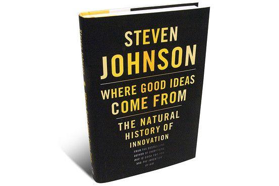 """WHERE GOOD IDEAS COME FROM Steven Johnson nos muestra que la historia dice algo diferente. Su recorrido fascinante nos lleva desde las """"redes líquidas"""", los cafés de Londres y las corazonadas lentas, de largo alcance, de Charles Darwin hasta la web actual de alta velocidad."""