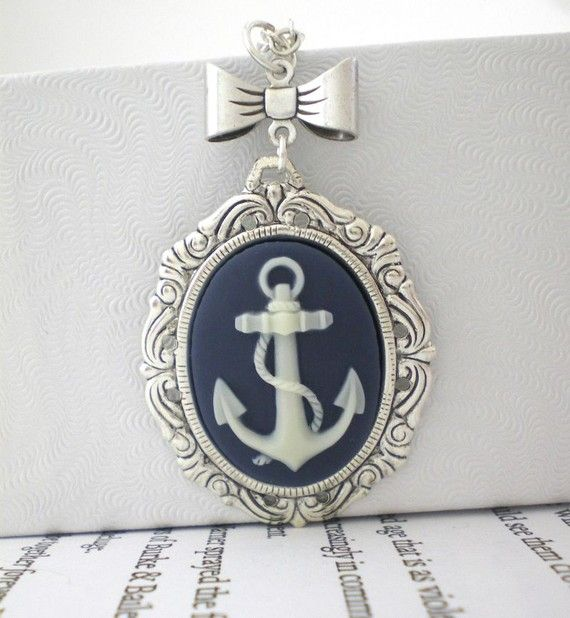 anchor: Anchor Party Stuffs, Jewelry Necklaces, Anchor Jewelry Necklace, Spring Wreath, Anchor Necklace, Navy Blue, Anchors Yes, Anchors Navy Stuff