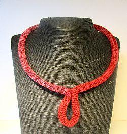 crochet necklace https://www.facebook.com/joyjewelry.gr?ref=hl