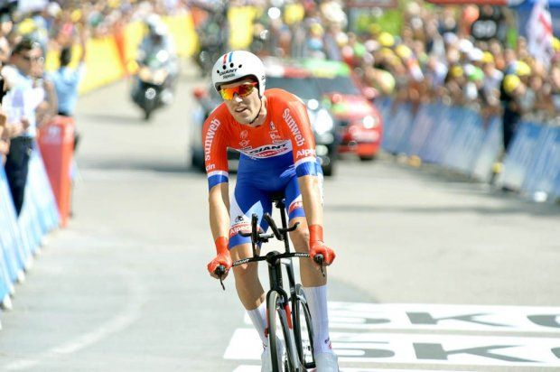 Etape 18 - Sallanches / Megève (17 km CLM) - DUMOULIN Tom (TEAM GIANT-ALPECIN) - Le champion des Pays-Bas du contre-la-montre termine en seconde position