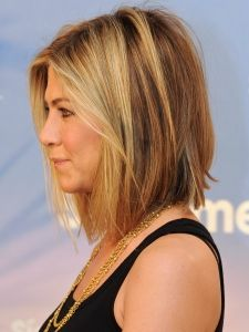 Jennifer Aniston Bob Haircut Side View...maybe I'll get there this time.... Love her hair