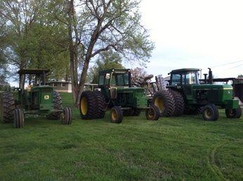 John Deere 123 hp 4520,  116hp 4320, And 155hp  4640