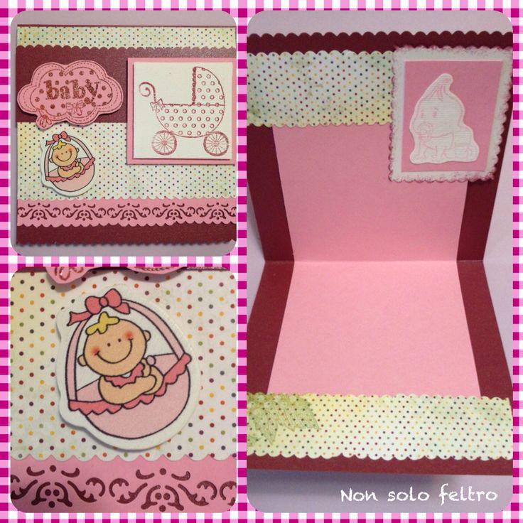 Card nascita bimba