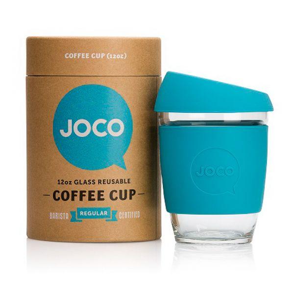 340 ml Coffee to go Becher aus robustem Glas zum wiederverwenden. Funktioniert super auch im Flieger anstelle der Papbecher die man bekommt http://www.beechange.com/haushalt/211-coffee-to-go-becher-340ml-glas.html