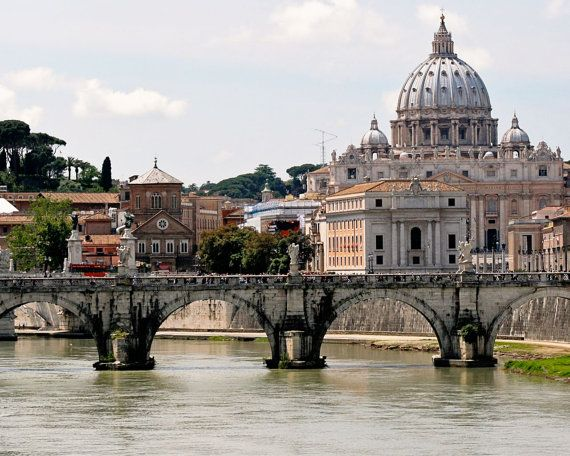 Rome Italy Photography  St. Peters Cathedral  by VitaNostra, $30.00