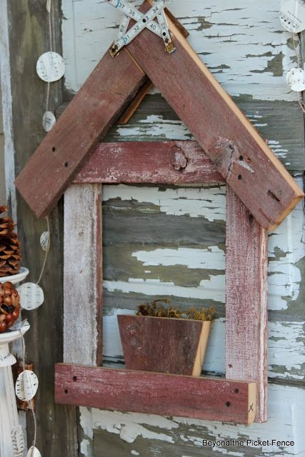 12 Days of Christmas, Day 8, Rustic, Simple Nativity