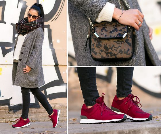 lookbook new balance 574 femme