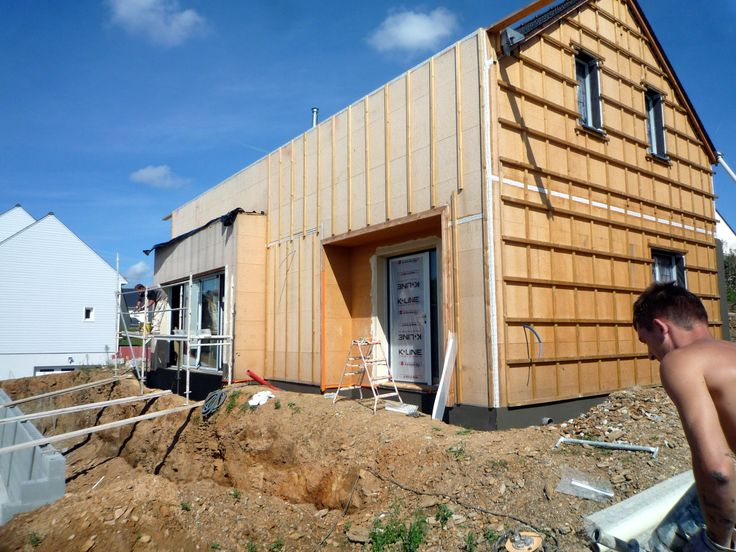 35 best Construction Ossature bois images on Pinterest Bricolage