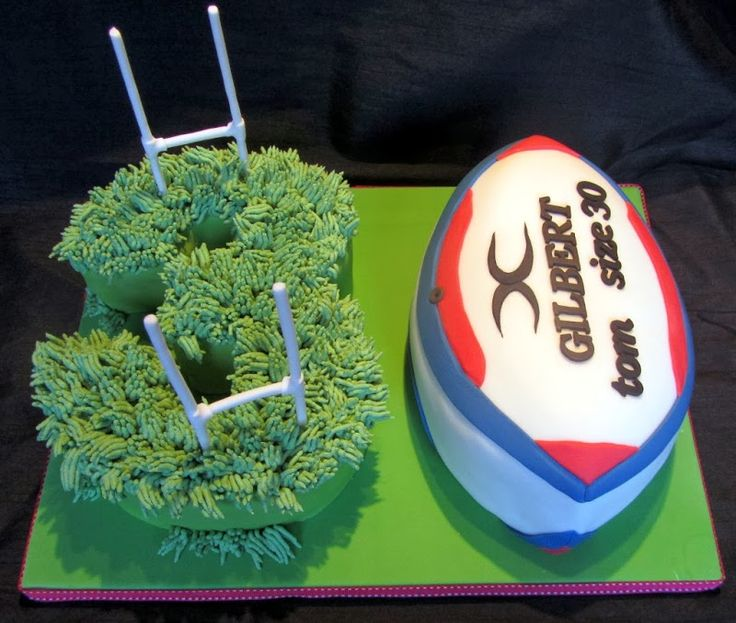 rugby cake - Google Search