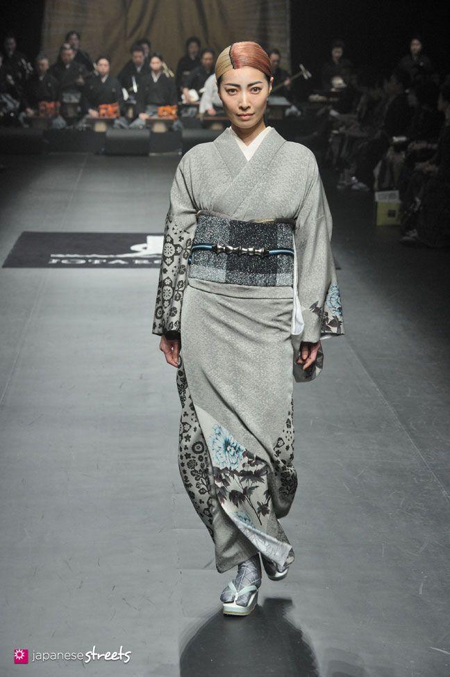 140319-7756 - Autumn/Winter 2014 Collection of Japanese fashion brand JOTARO SAITO on March 19, 2014, in Tokyo.