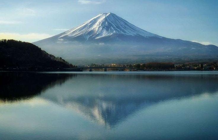 Situé aux toutes premières loges du mont Fuji, au Japon, le lac Tanuki est l'une des destinations fa... - Photo Pixabay